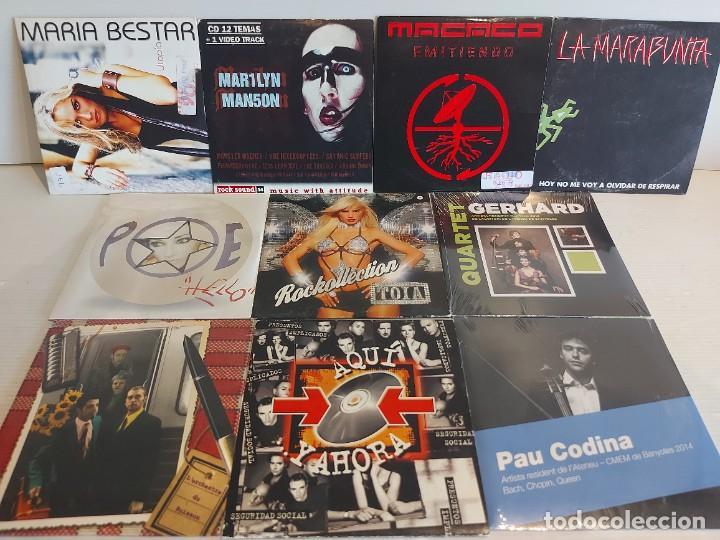 CDs de Música: TODO IMPECABLE !!! 190 CDS-SINGLES-PROMOS-EPS-ALBUMS / MÁS DE 1750 TEMAS / GRAN OCASIÓN !! VER FOTOS - Foto 11 - 252115025