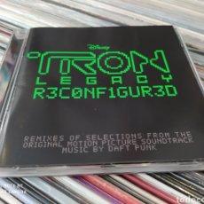 CDs de Música: DAFT PUNK -TRON: LEGACY RECONFIGURED. CD EDICIÓN 2011.BUEN ESTADO. Lote 252115480