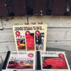CD de Música: DONDE ESTABAS TU EN EL 82-83-84-CD CAJA CON TRES CD. Lote 252138890
