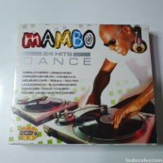 CDs de Música: PACK, CAJA DE MAMBO 24 HITS DANCE, NUEVO PRECINTADO ORIGINAL SIN ESTRENAR.. Lote 252215195