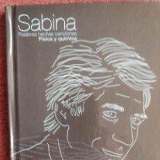 CDs de Música: JOAQUÍN SABINA PALABRAS HECHAS CANCIONES Nº 1 FÍSICA Y QUÍMICA DISCO LIBRO. Lote 252271015