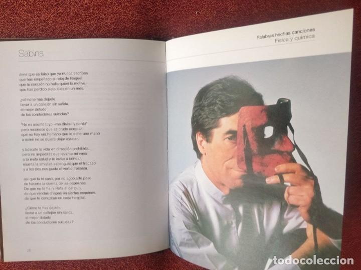 CDs de Música: Joaquín Sabina palabras hechas canciones nº 1 Física y Química DISCO LIBRO - Foto 3 - 252271015
