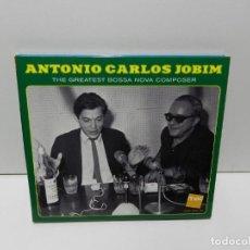 CD de Música: DISCO CD. ANTONIO CARLOS JOBIM – THE GREATEST BOSSA NOVA COMPOSER. COMPACT DISC.. Lote 252287765