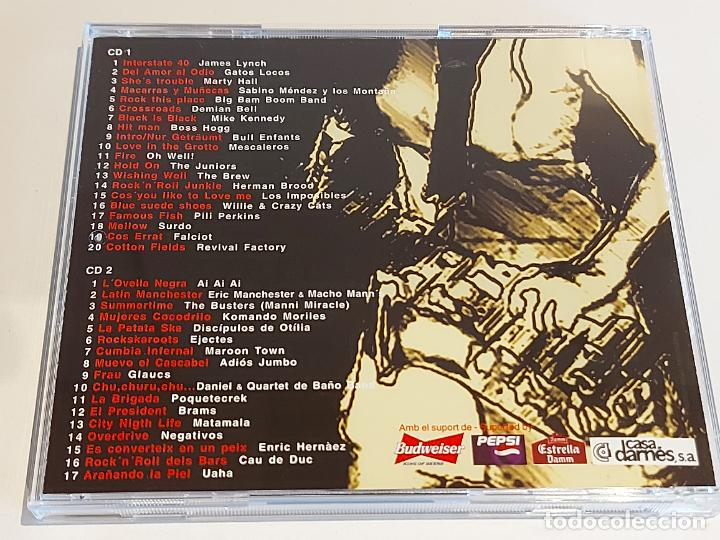 CDs de Música: MARISCAL / LIVE CONCERTS 1979-1999 / VARIOS GRUPOS / DOBLE CD - 37 TEMAS / IMPECABLE / DIFÍCIL. - Foto 4 - 252347305