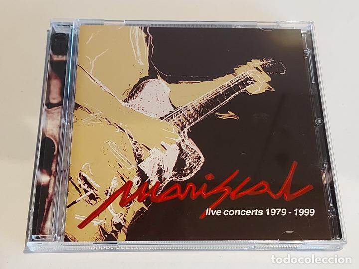 MARISCAL / LIVE CONCERTS 1979-1999 / VARIOS GRUPOS / DOBLE CD - 37 TEMAS / IMPECABLE / DIFÍCIL. (Música - CD's World Music)