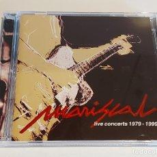 CDs de Música: MARISCAL / LIVE CONCERTS 1979-1999 / VARIOS GRUPOS / DOBLE CD - 37 TEMAS / IMPECABLE / DIFÍCIL.. Lote 252347305