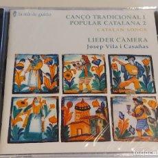 CDs de Música: LIEDER CÀMERA / CANÇÓ TRADICIONAL I POPULAR CATALANA / NADALES I CANÇONS / 19 TEMAS / PRECINTADO.. Lote 252352290