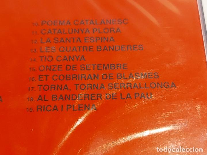 CDs de Música: CANÇONS PATRIÒTIQUES / CD-PICAP-2010 / 19 TEMAS / PRECINTADO. AGOTADO EN TIENDAS. - Foto 4 - 252353470