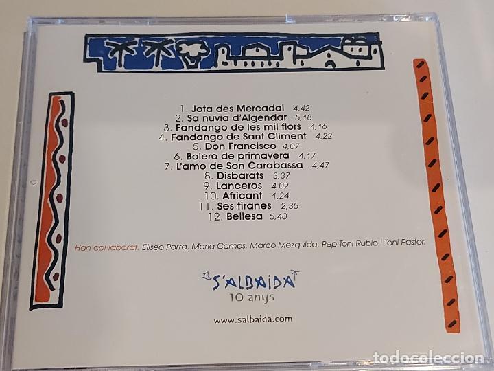 CDs de Música: SALBAIDA / XALANDRIA / ESTUCHE-CD - PICAP-2008 / 12 TEMAS / IMPECABLE, - Foto 3 - 252356805
