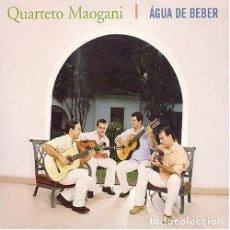 CDs de Musique: QUARTETO MAOGANI – ÁGUA DE BEBER - NUEVO Y PRECINTADO. Lote 252369795