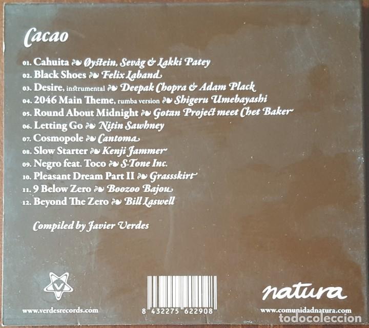 CDs de Música: CD / VARIOS ARTISTAS / NATURA MUSIC COLLECTION - CACAO, 2005 - Foto 2 - 252384505