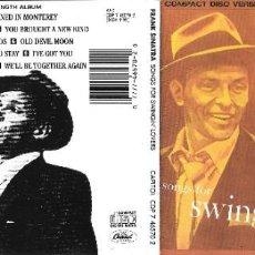 CDs de Música: FRANK SINATRA - SONGS FOR SWINGIN' LOVERS!. Lote 252402480