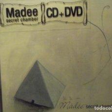 CDs de Música: CD + DVD MÚSICA MADEE , SECRET CHAMBER CON 10 TEMAS. Lote 252414685