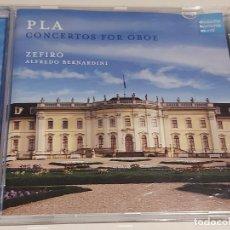 CDs de Música: ZEFIRO ORCHESTRA / PLA / CONCERTOS FOR OBOE / CD-SONY MUSIC-2010 / IMPECABLE / DIFÍCIL.. Lote 252422070