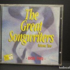 CDs de Música: VARIOS THE GREAT SONGWRITERS CD ALUM VOL 2 PEPETO. Lote 252450465