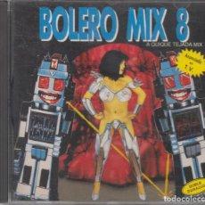 CD di Musica: BOLERO MIX 8 CD A QUIQUE TEJADA MIX 1991 BLANCO Y NEGRO. Lote 252525765