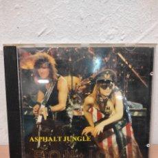 CDs de Música: CD BON JOVI ASPHALT JUNGLE RECORDED LIVE IN CINCINNATI OHIO 1987. Lote 252548150