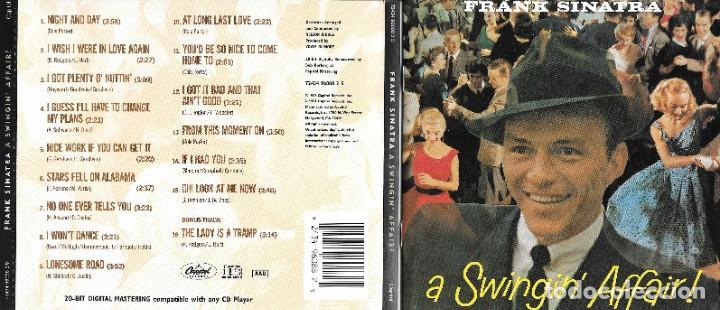 FRANK SINATRA - A SWINGIN' AFFAIR! (Música - CD's Melódica )