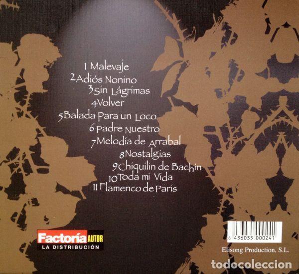 CDs de Música: EVA DURAN - POR TANGO - Foto 2 - 252597890