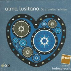 CDs de Música: ALMA LUSITANA 5 - OS GRANDES FADISTAS. Lote 252603305