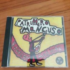CDs de Música: CD PATRULLERO MANCUSO. BODEGÓN MUSICAL.. Lote 252613090