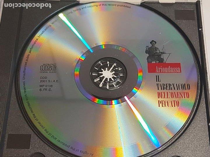 CDs de Música: ARIONDASSA / IL TABERNACOLO DELLONESTO PECCATO / CD-SMC-2001 / 13 TEMAS / IMPECABLE - Foto 2 - 252629475