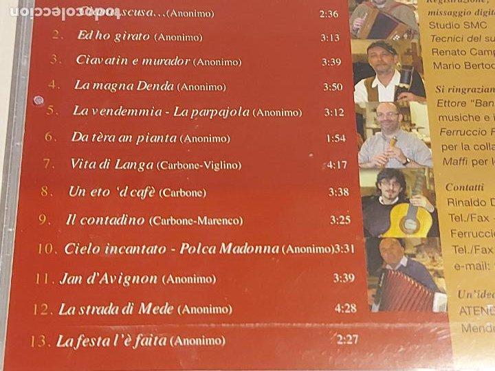 CDs de Música: ARIONDASSA / IL TABERNACOLO DELLONESTO PECCATO / CD-SMC-2001 / 13 TEMAS / IMPECABLE - Foto 4 - 252629475