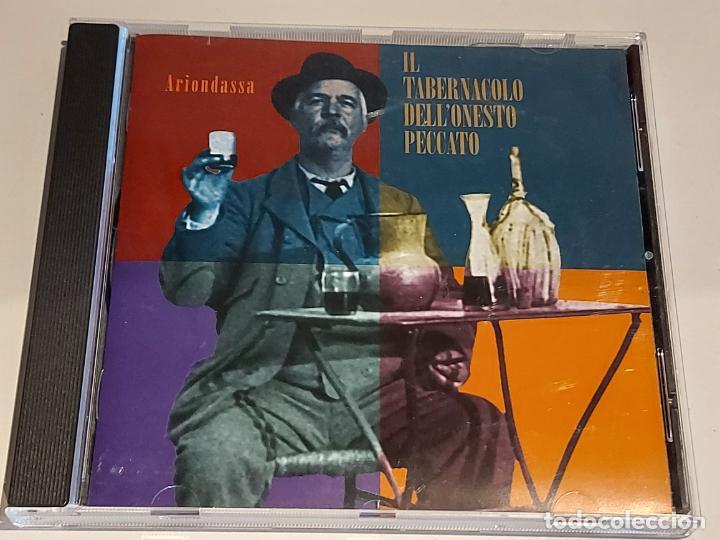 ARIONDASSA / IL TABERNACOLO DELL'ONESTO PECCATO / CD-SMC-2001 / 13 TEMAS / IMPECABLE (Música - CD's World Music)