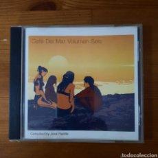 CDs de Música: CAFÉ DEL MAR VOLUMEN SEIS, VARIOS. Lote 252712215