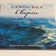 CDs de Música: LOOKING BACK / OVER - CHOPIN / DIGIPACK-CD-2012 / 18 TEMAS / IMPECABLE.. Lote 252737635