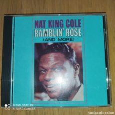 CD de Música: NAT KING COLE CD RAMBLIN' ROSE (AND MORE). Lote 252756895