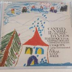 CDs de Música: L'ESQUITX I GRUP INSTRUMENTAL DE LA CORAL SANT JORDI / CANTATA DE NADAL DE CARL ORFF / CD IMPECABLE.. Lote 252819085