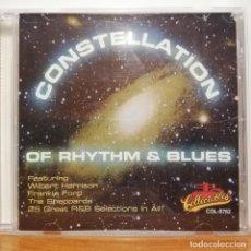 "CDs de Música: DOO WOP, SOUL, R&B CD ""CONSTELLATION OF RHYTHM & BLUES"" COLLECTABLES. Lote 252844240"