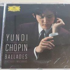 CDs de Música: YUNDI-PIANO / CHOPIN / BALLADES-BERCEUSE-MAZURKAS / CD-MERCURY-CLASSIC-2016 / IMPECABLE.. Lote 252938860