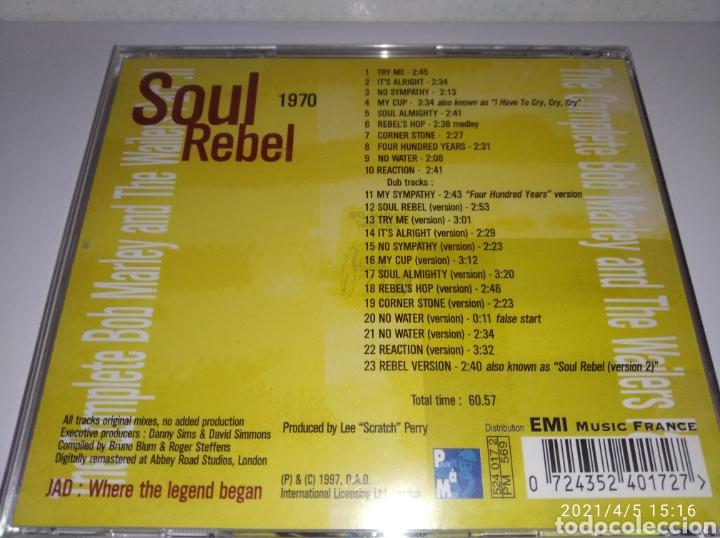 CDs de Música: BOB MARLEY & THE WAILERS SOUL REBELS - Foto 2 - 252949375