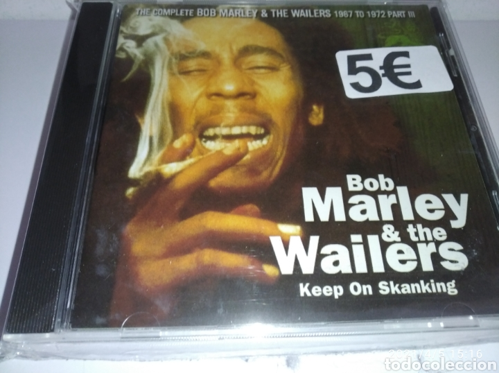 BOB MARLEY & THE WAILERS KEEP ON SKANKING (Música - CD's Reggae)