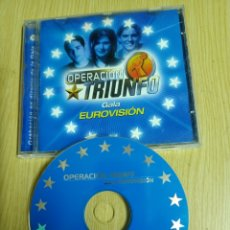CDs de Música: OPERACIÓN TRIUNFO - GALA EUROVISIÓN. Lote 253021505