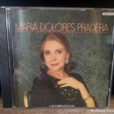 CDs de Música: MARÍA DOLORES PRADERA - AMARRADITOS - CD ALBUM - 12 TRACKS - BMG / ARIOLA 1991. Lote 253023460
