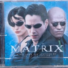 CDs de Música: THE MATRIX – MUSIC FROM THE MOTION PICTURE (WARNER BROS, 1999) /// PRODIGY RAMMSTEIN MINISTRY MANSON. Lote 253026520