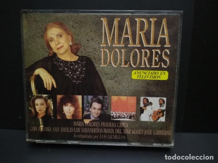 MARIA DOLORES PRADERA CON LOS GEMELOS... - 2 X CD - 1989 CANTA CON .....VARIOS PEPETO (Música - CD's Melódica )