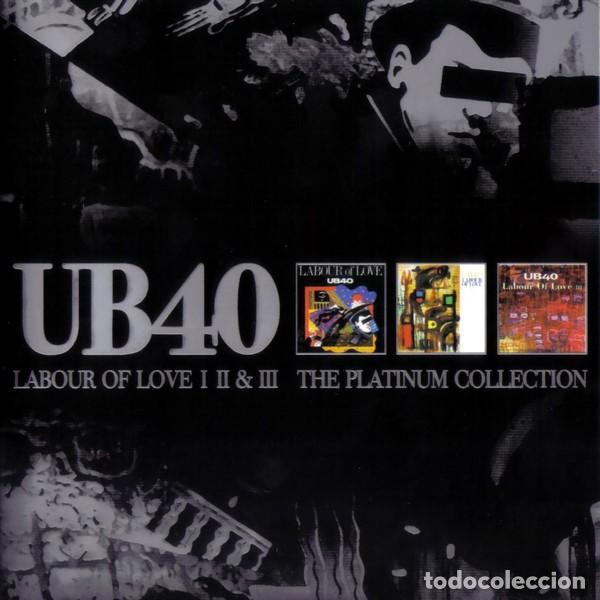 UB40 LABOUR OF LOVE I II & III TRIPLE CD COMO NUEVO (Música - CD's Reggae)