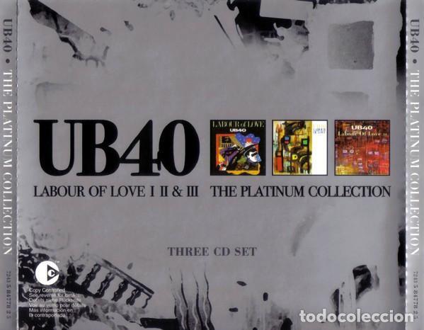 CDs de Música: UB40 LABOUR OF LOVE I II & III TRIPLE CD COMO NUEVO - Foto 2 - 253042070