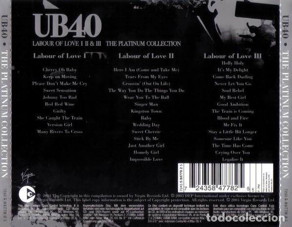 CDs de Música: UB40 LABOUR OF LOVE I II & III TRIPLE CD COMO NUEVO - Foto 3 - 253042070