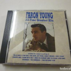 CDs de Música: DARON YOUNG - ALL TIME GREATEST HITS - CD - C 5. Lote 253069295