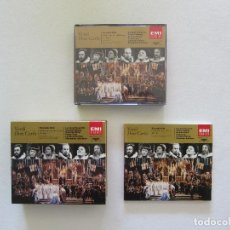 CD de Música: DON CARLO (3CD) + LIBRETO - VERDI - EMI CLASSICS. Lote 253099415