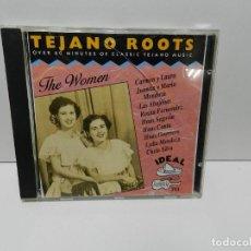 CDs de Musique: DISCO CD. TEJANO ROOTS: THE WOMEN (1946-1970). COMPACT DISC.. Lote 253128175
