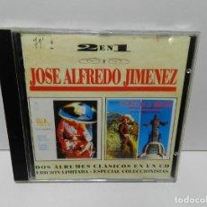 CDs de Musique: DISCO CD. JOSÉ ALFREDO JIMÉNEZ – ELLA... LA QUE SE FUE / EL CRISTO DE LA MONTANA. COMPACT DISC.. Lote 253190500