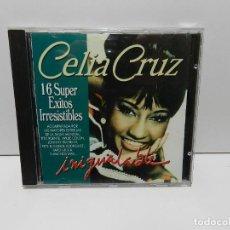 CDs de Musique: DISCO CD. CELIA CRUZ – INIGUALABLE. COMPACT DISC.. Lote 253224525
