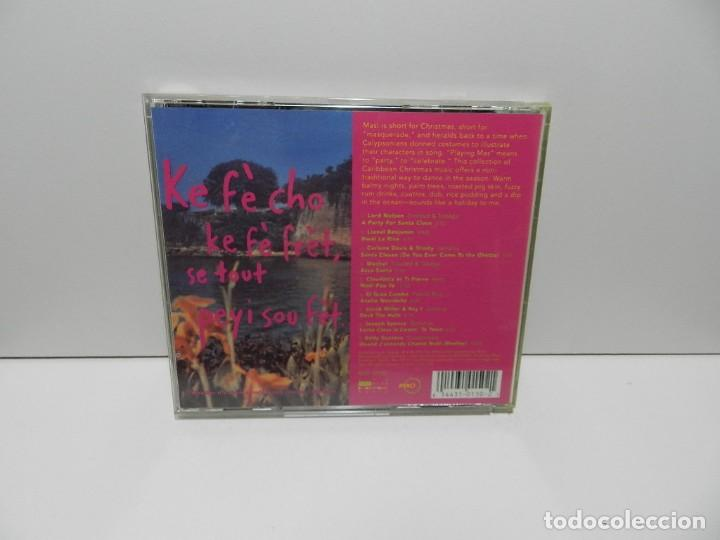 CDs de Música: DISCO CD. Mas!: A Caribbean Christmas Party. COMPACT DISC. - Foto 2 - 253233900