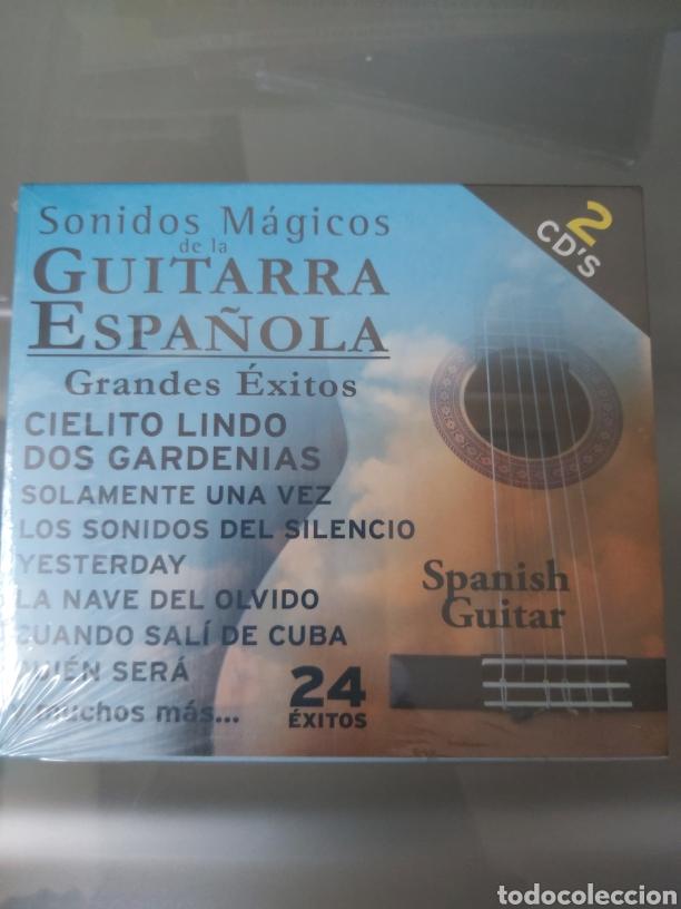 SONIDOS MAGICOS DE LA GUITARRA ESPAÑOLA (Música - CD's Flamenco, Canción española y Cuplé)